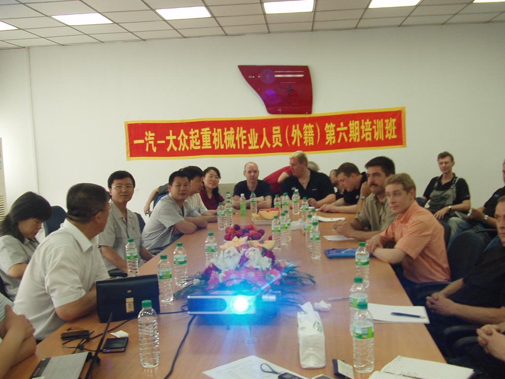培训外籍作业人员